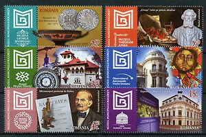 Romania 2017 MNH Bucharest Municipality Museums Artistic Heritage 6v Set Stamps