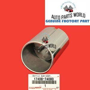 GENUINE TOYOTA AVALON CAMRY LS430 GS430 GS460 EXHAUST TAILPIPE TIP 17408-74080