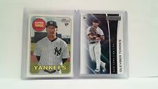 Uncirculated Gleyber Torres ROOKIES 2018 Topps Heritage + Panini Rookie and Star