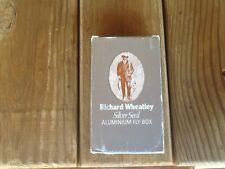VINTAGE RICHARD WHEATLEY SILVER SEAL ALUMINIUM FLY BOX nib