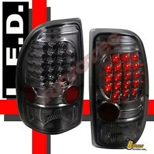 97-04 Dodge Dakota R/T SLT SXT Base Smoke LED Tail Lights 1 Pair