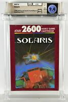 SOLARIS Atari 2600 Brand New Factory Sealed WATA 9.4 A++ Seal