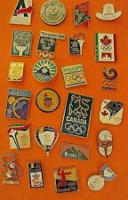 Mixed Collection of Olympic Pins