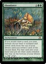 ABUNDANCE Tenth Edition MTG Green Enchantment RARE