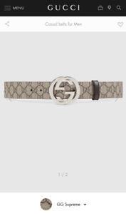 Gucci Belt (New)