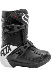 Fox racing Kids Black Comp K Riding Boots