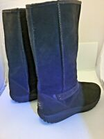 Women's leather Sketchers high cold winter boot EXCELLENT SIZE 11