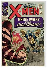 X-Men 13 (married cover) Juggernaut Kirby Silver Age 1965 Marvel Comics (j#2265)