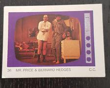 Monty Gum trading card 1970 TV Series: Please Sir #36 Mr.Price & Bernard Hedges