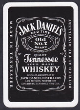 Jack Daniel's Whisky Swap Single Playing Cards