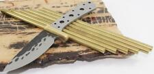 Brass Rod 3/16 x 6 inch Pin Pins For Scales Handles Knife Making Supplies