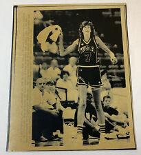 1987 press photo ~ USA women's basketball ~ ANNE DONOVAN