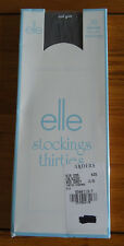 Elle Thirties Stockings 30 Denier Navy One Size