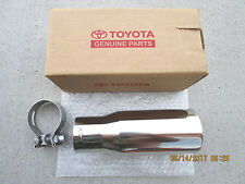 05 - 09 TOYOTA 4RUNNER LIMITED SR5 SPORT STAINLESS STEEL EXHAUST TIP NEW OEM