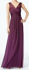 Adrianna Papell New Ruched Embellished Gown Size 14 MSRP $189 #DN 1354