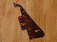 PICKGUARD BROWN TORTOISE SHELL 4 PLY FOR EPIPHONE LES PAUL