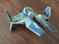 Official Star Wars Jedi Blue Starfighter Fighter Ship