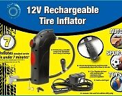 rechargeable inflator. (Bonus: 5 free extra ball inflators needles)