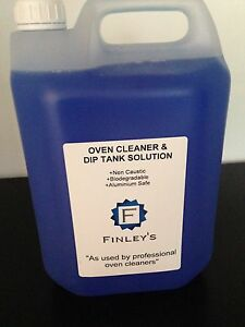 Oven Cleaner & Dip Tank Solution 5L - Non Caustic