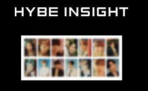 BTS HYBE Insight Photo Card POSTER POSTCARD set EUPHORIA Pre-order