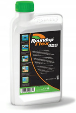 ROUNDUP 1L 480 FLEX ROUNDAP WEEDKILLER CONCENTRATE EXTENDED CONTROL