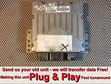 PEUGEOT 307 2.0 HDI ECU SID801 5WS40030B-T * Plug & Play * (Gratuit Programmation)