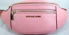 Michael Kors Mott Pebbled Leather Medium  Belt Bag, Shoulder bag in Pink