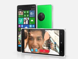 "Nokia Lumia 830 Original 4G LTE Wifi Bluetooth GPS Radio Unlocked 5"" 16GB 10MP"
