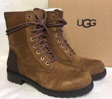ugg australia leather combat boots for ebay