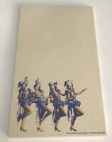 Vintage Showgirl Collectible Paper Pad