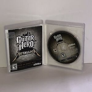 Guitar Hero: Metallica (PS3) TESTED&COMPLETE Fast Free Shipping!