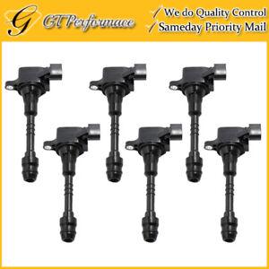 OEM Quality Ignition Coil 6PCS for Infiniti FX35 G35 M35/ Nissan 350Z 3.5L-V6