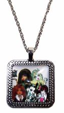 Monster High Group Square Faced Pendant NECKLACE