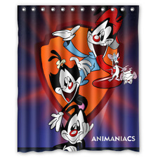New Fabric Bath Curtain Animaniacs Custom Shower Curtain 60x72 Inch