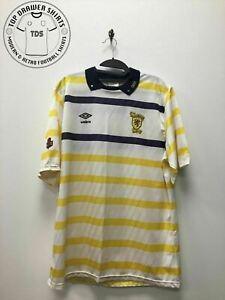 Scotland 1988/1990 Away Football Shirt Men's Size Large