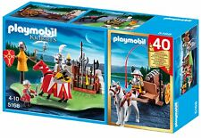 PLAYMOBIL 5168 40th Anniversary Knights Tournament Set New sealed in box OOP