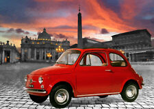 AUTOMOTIVE ART - FIAT 500  - HAND FINISHED, LIMITED EDITION (25)