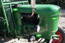 Ölfilterumbausatz Deutz Fahr Motor F1L712 F2L712 F2L812 F2L912 Traktor