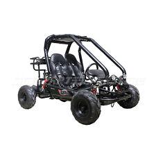 X-PRO Blast 110cc Go Kart Fully Auto Transmission Reverse Remote Control Black
