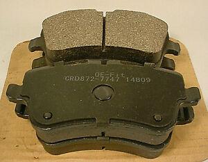 2001 - 2011 Mercedes-Benz Front  Disk Ceramic Brake Pads - # 872-7747