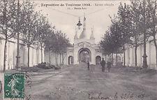 TOULOUSE 11 exposition beaux-art timbrée 1908