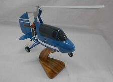 J4B2 Barnett Gyrocopter J4B Airplane Mahogany Kiln Dry Wood Model Small New