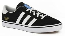 Adidas AMERICANA VIN Black White Blue Skateboarding Discounted (121) Men's Shoes