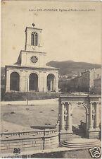 01 - cpa - OYONNAX - Eglise et porte monumentale