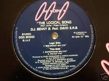 "D.J BENNY B ft DAVID S.R.B The Logical Song 12"" Single"