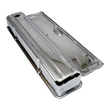Chrome Valve Cover w/ Side Plate Inline Straight 6 Cylinder Chevy 235
