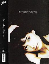 BEVERLEY CRAVEN CASSETTE ALBUM POP VOCAL BALLAD EPIC UK DEBUT