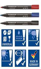Staedtler Lumocolour Permanent Marker, Bullet Tip - Color - Pack of 10 (352-5)
