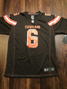 New Youth Nike Cleveland Browns Baker Mayfield #6 Jersey Size Kids XL Brown