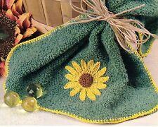 PRETTY Sunny Days Washcloth/CROCHET PATTERN INSTRUCTIONS ONLY